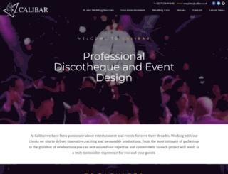 calibar.co.uk screenshot