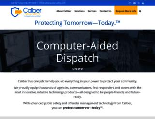 caliberpublicsafety.com screenshot