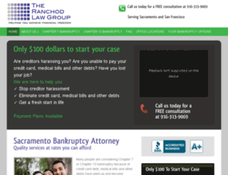 california-bankruptcyattorney.com screenshot