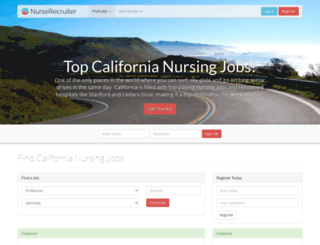 california.nursingjobs.us screenshot