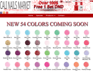 calinailsmarket.com screenshot