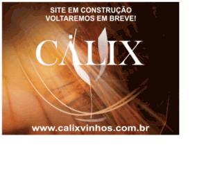 calixvinhos.com.br screenshot