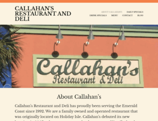 callahansdestin.com screenshot