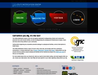 callbeforeyoudig.org screenshot