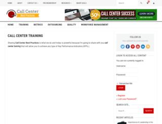 callcenterleadershiptraining.com screenshot