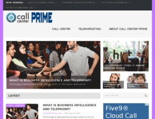 callcenterprime.com screenshot
