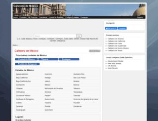 callejero-mexico.openalfa.net screenshot