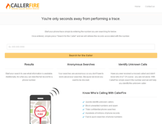 callerfire.com screenshot