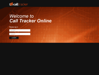 calltrackeronline.com screenshot