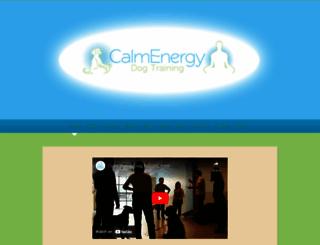 calmenergydogtraining.com screenshot