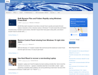 calmit.org screenshot