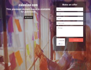 calonline.com screenshot