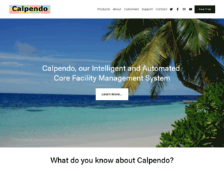 calpendo.com screenshot