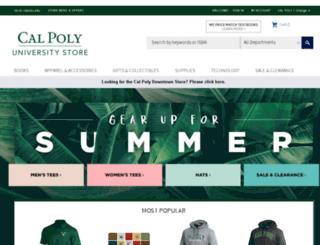 calpolystore.com screenshot