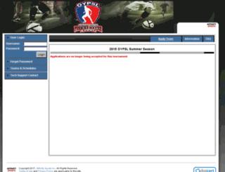 cals-2015oypslsummer.sportsaffinity.com screenshot