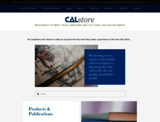calstore.cal.org screenshot