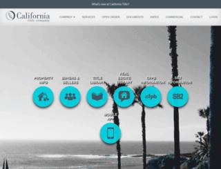 caltitle.com screenshot