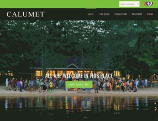 calumet.org screenshot