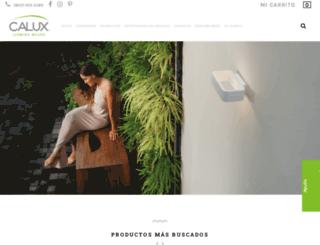 calux.com.mx screenshot