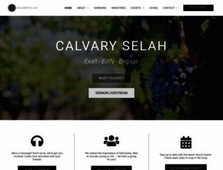 calvaryselah.org screenshot