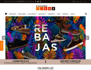 calzadosluz.com screenshot