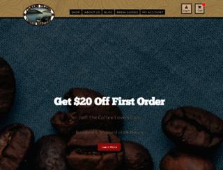 camanoislandcoffee.com screenshot