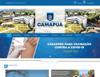 camapua.ms.gov.br screenshot