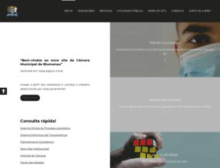 camarablu.sc.gov.br screenshot