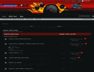 camaro-talk.com screenshot
