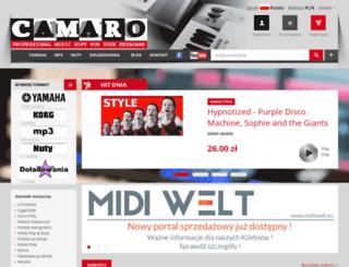 camaro24.pl screenshot