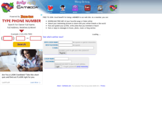 camboda.com screenshot