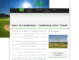 cambodiagolftoday.com screenshot
