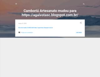 camboriuartesanato.blogspot.com.br screenshot