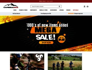 cambriabike.com screenshot