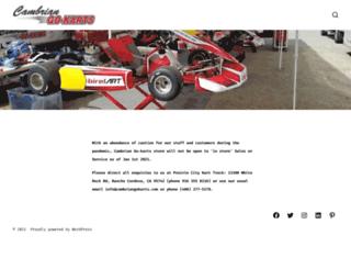 cambriangokarts.com screenshot