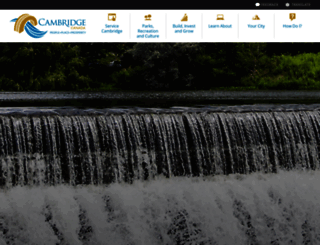 cambridge.ca screenshot
