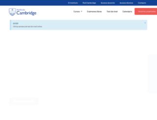 cambridge.com.ar screenshot