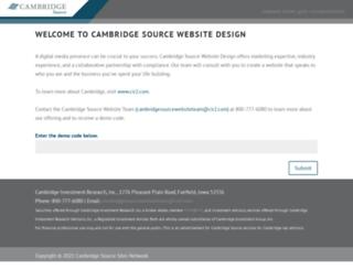 cambridgesourcesites.com screenshot