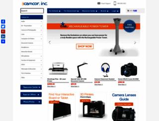 camcor.com screenshot