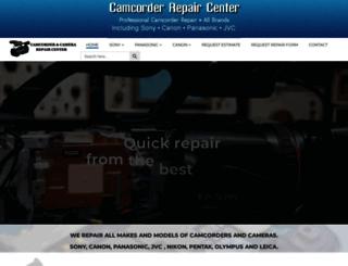 camcorderrepair.com screenshot