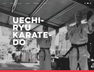 camdenkarate.com.au screenshot