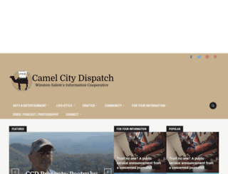 camelcitydispatch.com screenshot