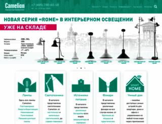 camelion.ru screenshot