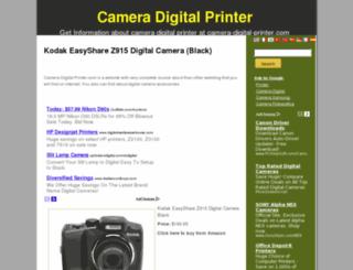 camera-digital-printer.com screenshot
