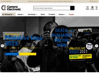 cameraelectronic.com.au screenshot