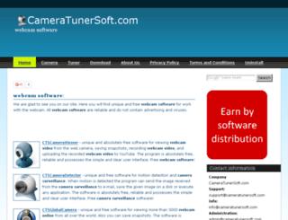 cameratunersoft.com screenshot