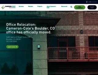 cameron-cole.com screenshot