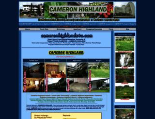 cameronhighlands4u.com screenshot