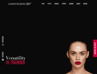 cameronjane.com.au screenshot