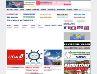 camerounlink.com screenshot